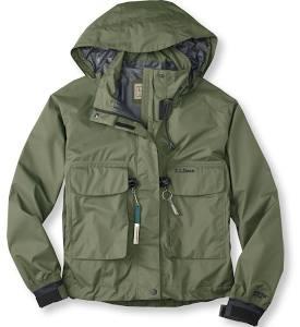 llbean wading jacket
